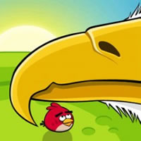 Angry Birds and the Mighty Eagle