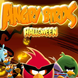 angry birds halloween free online game