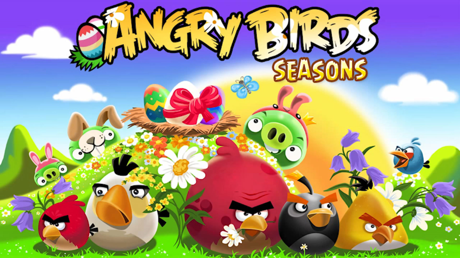 Angry birds easter wallpaper angry birds wallpapers angry birds easter voltagebd Choice Image