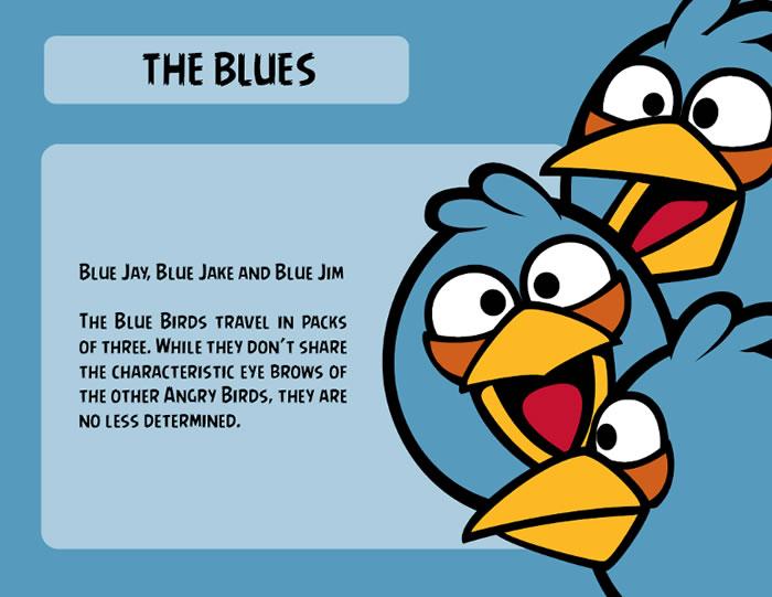 Blue Bird Character