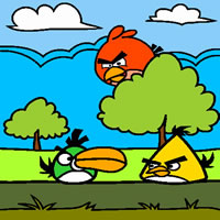 Flock of Angry Birds
