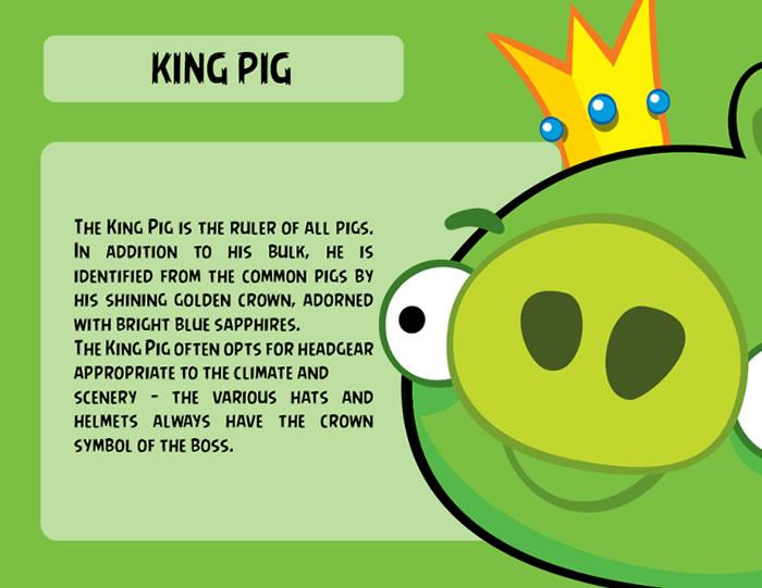 King Pig Character