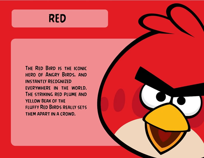 Red Bird Character