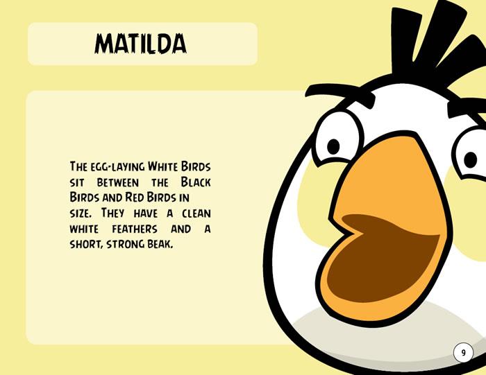 White Bird Character (Matilda)