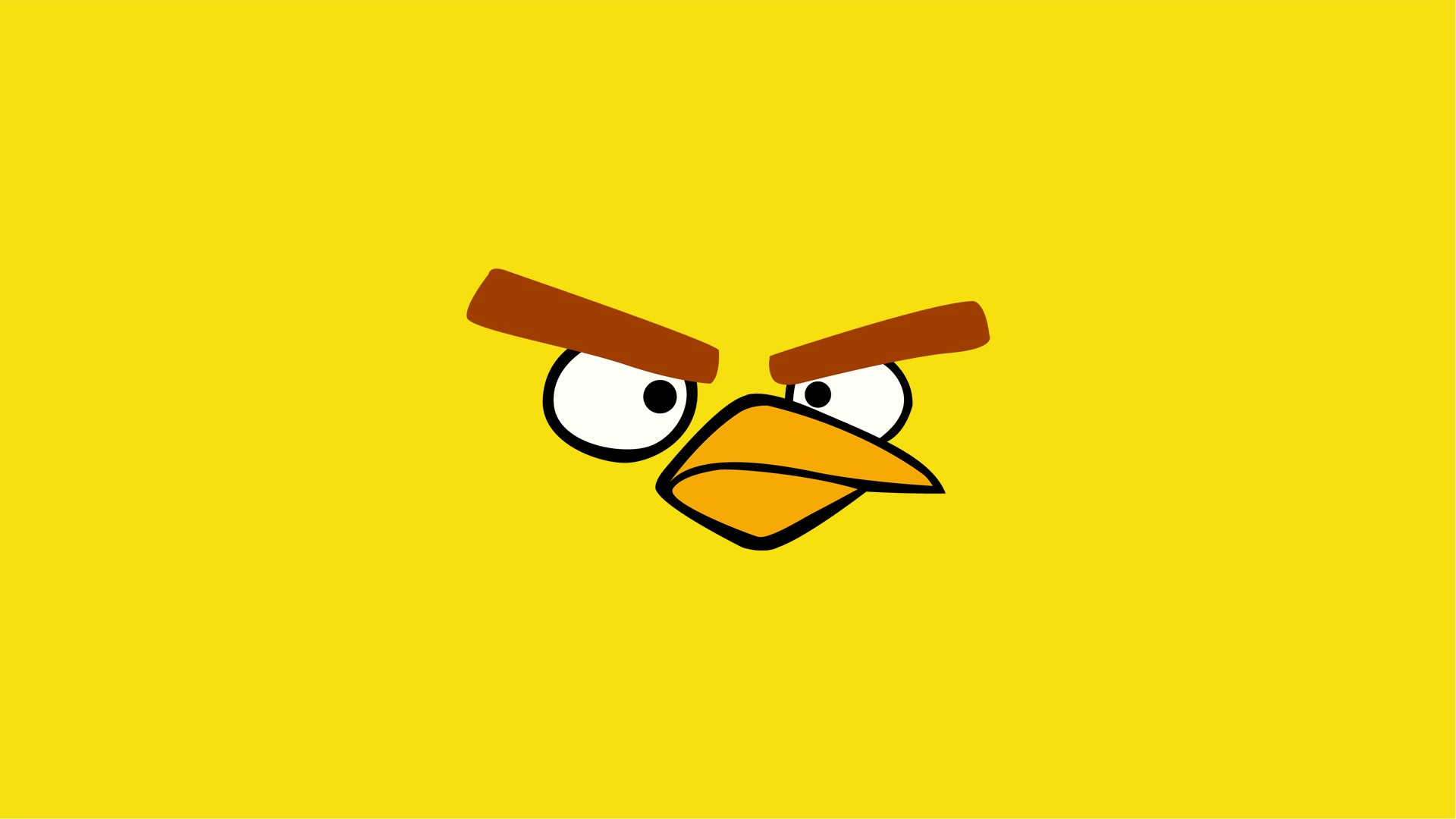 Download yellow bird hd wallpaper angry birds wallpapers yellow bird wallpaper voltagebd Gallery