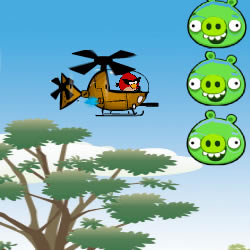 Angry Birds Space Hero Helicopter
