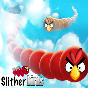 Slither Angry Birds